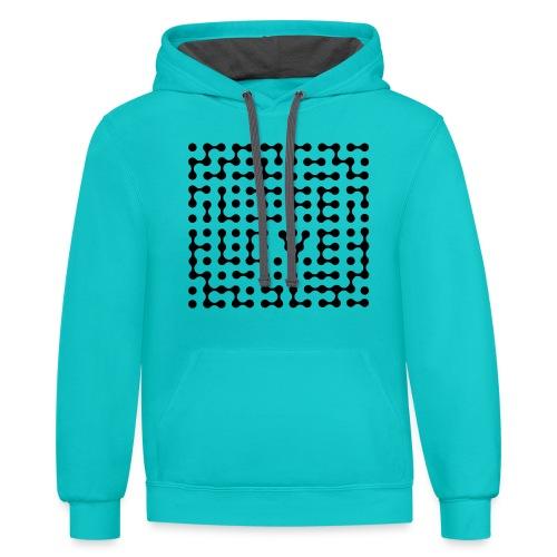 Contrast Hoodie - tshirts,shopping,gifts,fashion,clothing,city,capitallcity,capitall