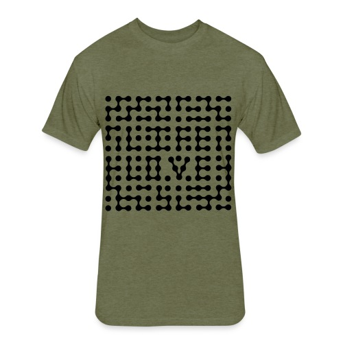 Fitted Cotton/Poly T-Shirt by Next Level - tshirts,shopping,gifts,fashion,clothing,city,capitallcity,capitall