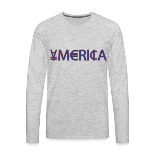 Men's Premium Long Sleeve T-Shirt - tshirts,shopping,gifts,fashion,clothing,city,capitallcity,capitall