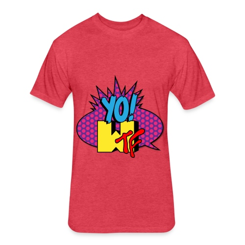 Fitted Cotton/Poly T-Shirt by Next Level - tshirts,shopping,gifts,fashion,clothing,city,capitallcity,capitall,DONT SHOOT