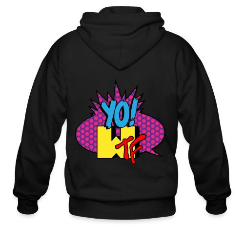 Men's Zip Hoodie - tshirts,shopping,gifts,fashion,clothing,city,capitallcity,capitall,DONT SHOOT