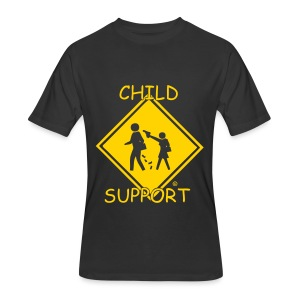 Men's 50/50 T-Shirt - tshirts,shopping,gifts,fashion,clothing,city,capitallcity,capitall,DONT SHOOT