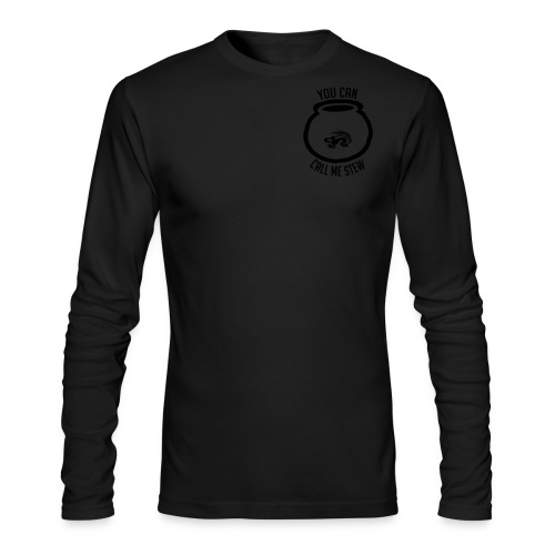 Unisex Shirt w/white print - Men's Long Sleeve T-Shirt by Next Level