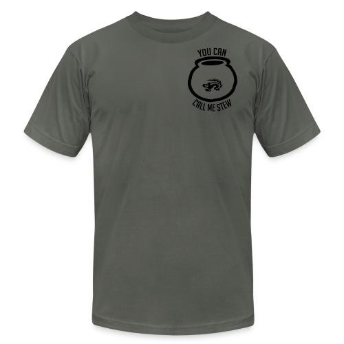 Unisex Shirt w/white print - Men's  Jersey T-Shirt