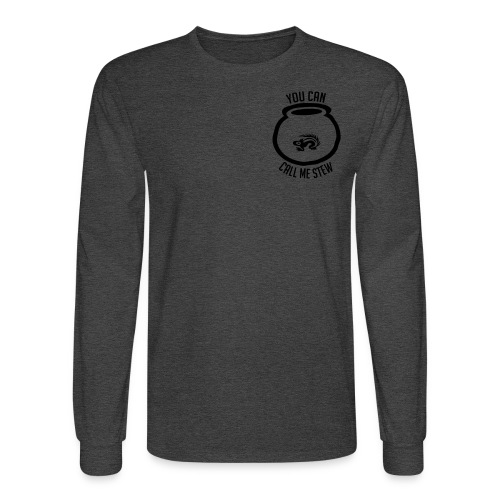 Unisex Shirt w/white print - Men's Long Sleeve T-Shirt