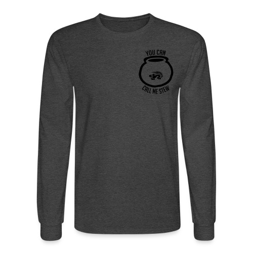 Unisex Shirt w/white print - Men's Long Sleeve T-Shirt