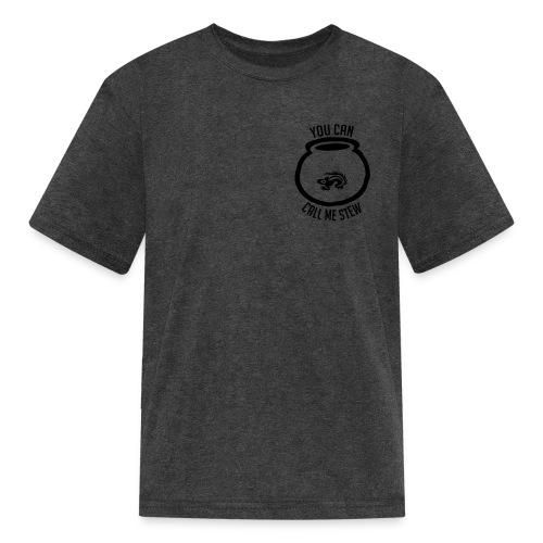 Unisex Shirt w/white print - Kids' T-Shirt