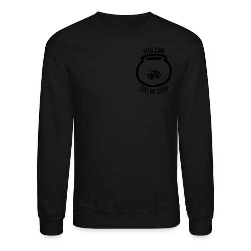 Unisex Shirt w/white print - Crewneck Sweatshirt