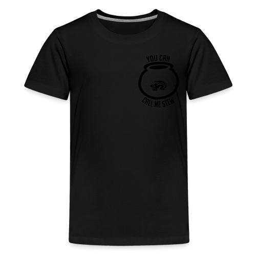 Unisex Shirt w/white print - Kids' Premium T-Shirt