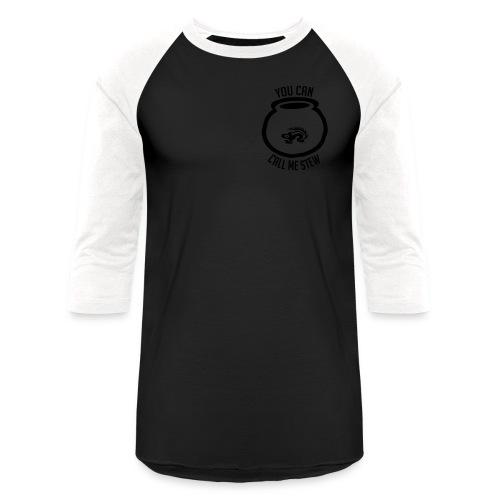 Unisex Shirt w/white print - Baseball T-Shirt