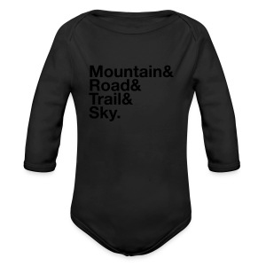 Toddler MTGE Where We Run T-shirt - Long Sleeve Baby Bodysuit