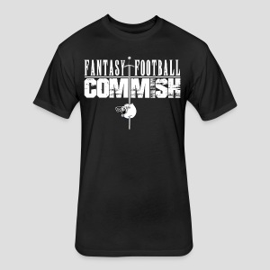 Fantasy Football Commish - Fitted Cotton/Poly T-Shirt by Next Level