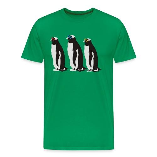 3 Penguins Leonard - Men's Premium T-Shirt