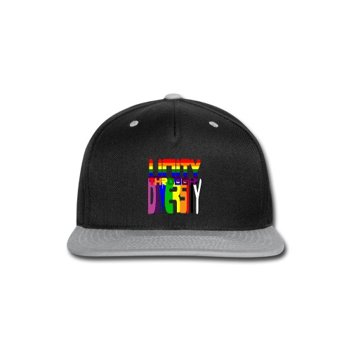 Unity through Diversity - Snap-back Baseball Cap