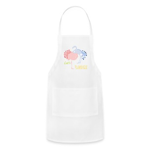Flamingo Romance T-Shirts - Adjustable Apron