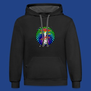 Haight Ashbury Psychedelic - Contrast Hoodie