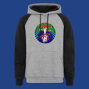 Haight Ashbury Psychedelic - Colorblock Hoodie