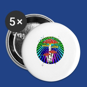 Haight Ashbury Psychedelic - Small Buttons