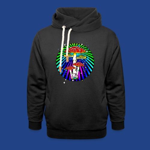 Haight Ashbury Psychedelic - Shawl Collar Hoodie