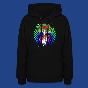 Haight Ashbury Psychedelic - Women's Hoodie