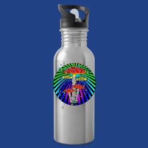 Haight Ashbury Psychedelic - Water Bottle