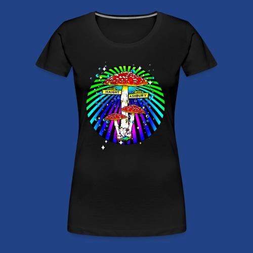 Haight Ashbury Psychedelic - Women's Premium T-Shirt