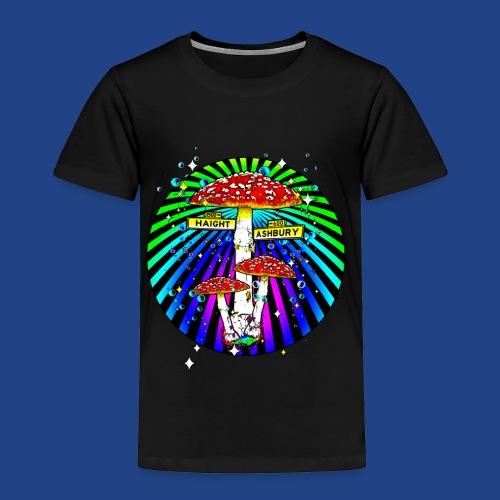 Haight Ashbury Psychedelic - Toddler Premium T-Shirt