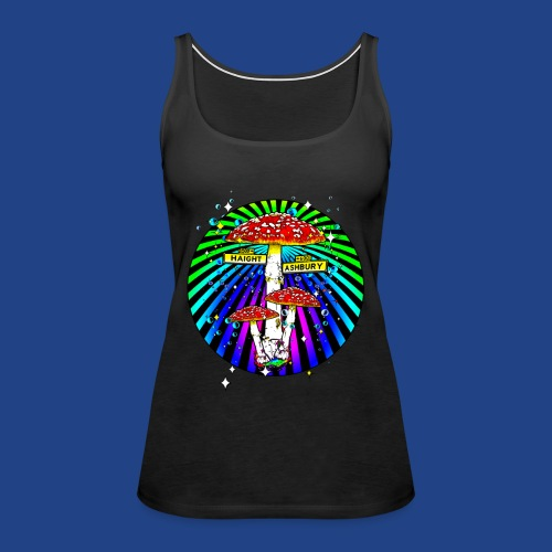 Haight Ashbury Psychedelic - Women's Premium Tank Top