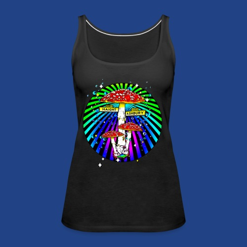 Haight Ashbury Psychedelic - Women's Premium Tank Top