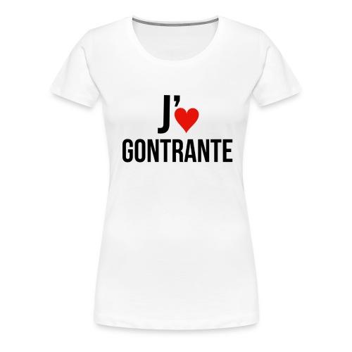 Moi j'♥ Gontrante (Femmes) - Women's Premium T-Shirt