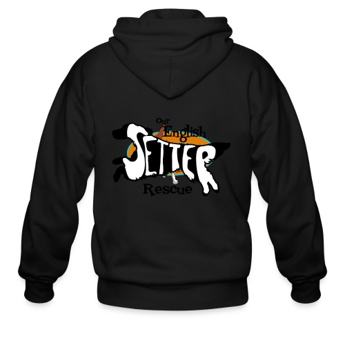 Women's Double-sided hoodie with dual setters - Men's Zip Hoodie