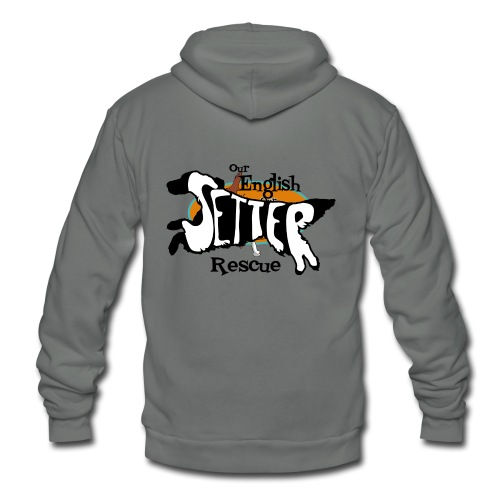 Women's Double-sided hoodie with dual setters - Unisex Fleece Zip Hoodie