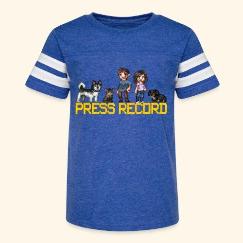 Pixel Art - Kid's Vintage Sport T-Shirt