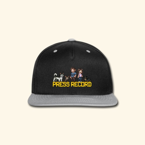 Pixel Art - Snap-back Baseball Cap
