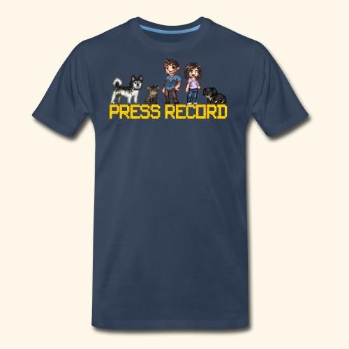 Pixel Art - Men's Premium T-Shirt