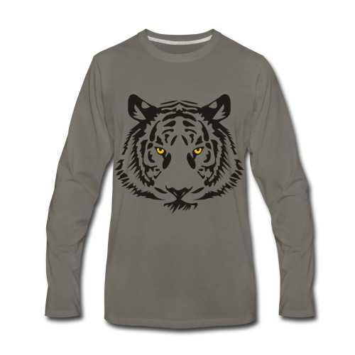 Tiger – Leonard - Men's Premium Long Sleeve T-Shirt