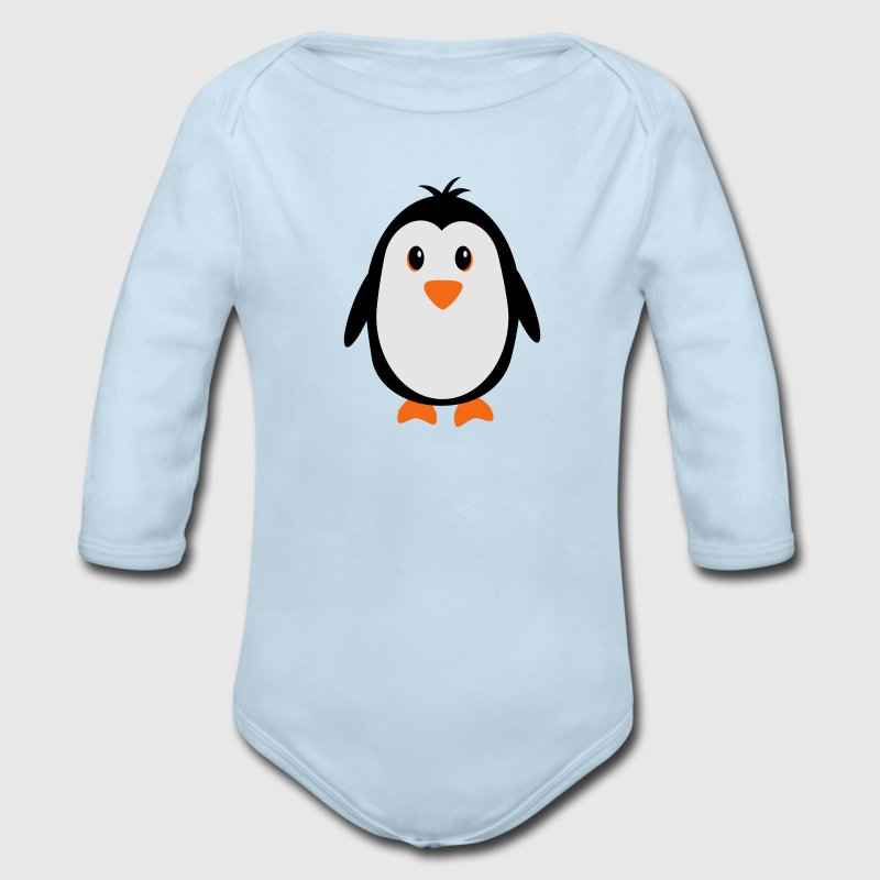 Cute Penguin Baby & Toddler Shirts - Long Sleeve Baby Bodysuit