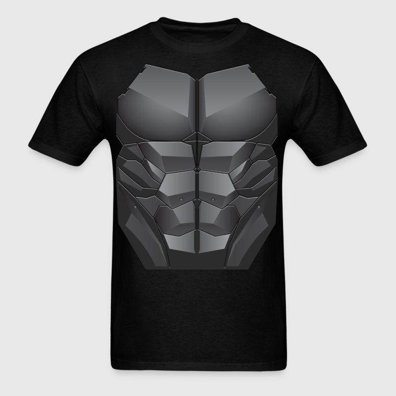 Red Hood Chest & Abs 2D Print T-Shirts - Men's T-Shirt