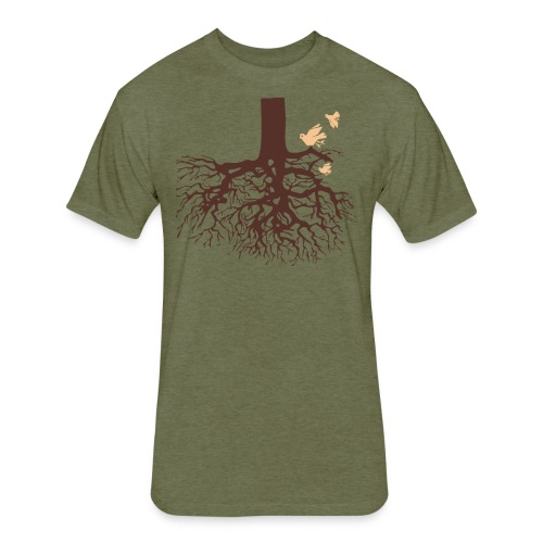 Sheldon Cooper – Tree - Fitted Cotton/Poly T-Shirt by Next Level