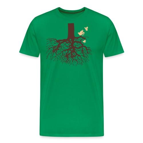 Sheldon Cooper – Tree - Men's Premium T-Shirt