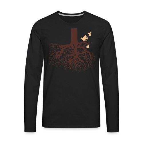 Sheldon Cooper – Tree - Men's Premium Long Sleeve T-Shirt
