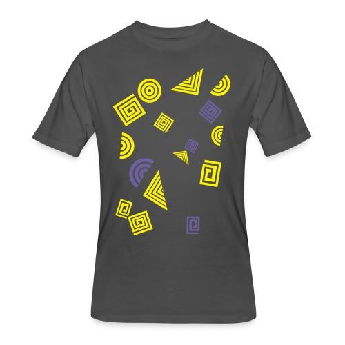 Geometry - Men's 50/50 T-Shirt