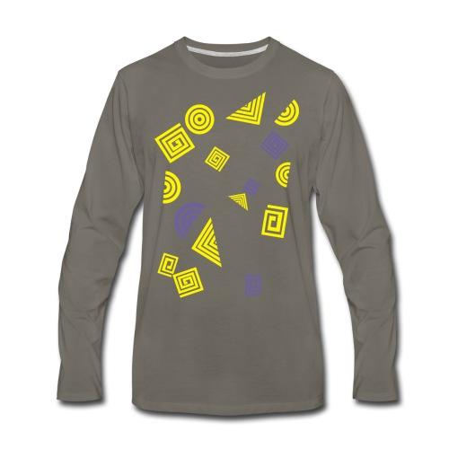 Geometry - Men's Premium Long Sleeve T-Shirt