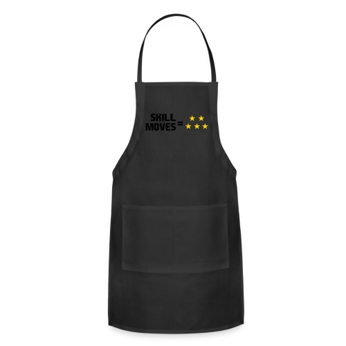 Skill Moves = 5 Stars | Snapback - Adjustable Apron
