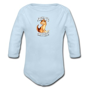 Freddy's Baby Teeth - Long Sleeve Baby Bodysuit
