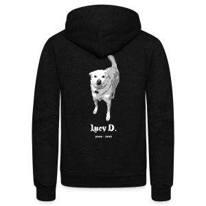 Jeff D. Band Premium Tank Top (m) - Unisex Fleece Zip Hoodie by American Apparel