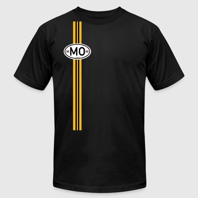 Missouri Racing Stripe 5 T Shirts T Shirt Spreadshirt