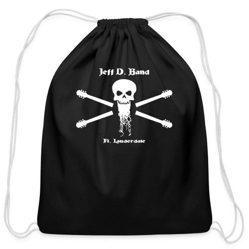 Jeff D. Band Baseball Shirt - Cotton Drawstring Bag