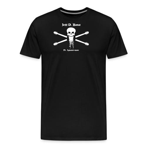 Jeff D. Band Baseball Shirt - Men's Premium T-Shirt