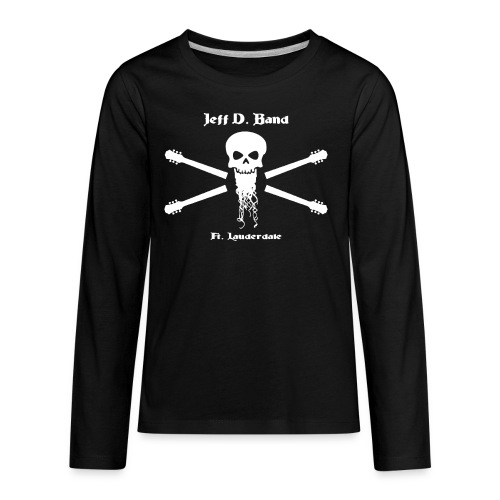 Jeff D. Band Baseball Shirt - Kids' Premium Long Sleeve T-Shirt